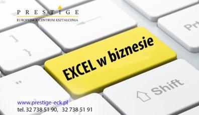 EXCEL W BIZNESIE – optymalizacja pracy w arkuszu kalkulacyjnym (poziom średniozaawansowany)