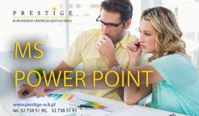 MS POWER POINT – sztuka tworzenia prezentacji
