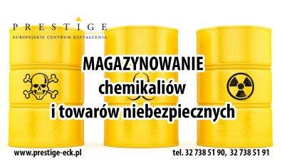 MAGAZYNOWANIE chemikaliów i towarów niebezpiecznych
