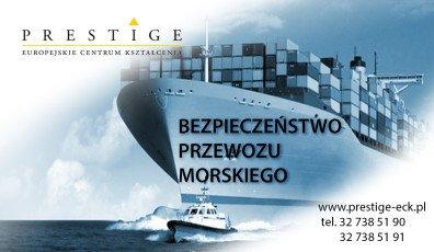 BEZPIECZEŃSTWO PRZEWOZU MORSKIEGO towarów niebezpiecznych – IMDG Code w tym warsztaty związane z wypełnianiem dokumentacji przewozowej.