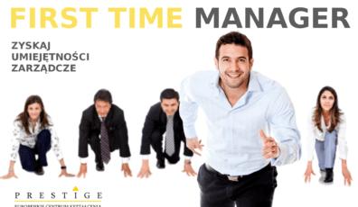 Akademia FIRST TIME MANAGER. Kieruj skutecznie. Motywuj z efektem. Dyscyplinuj kiedy trzeba. Cykl 5-dniowych warsztatów z zarządzania zespołem produkcyjnym