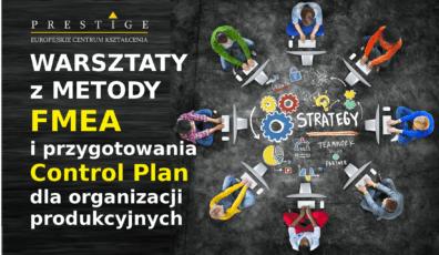 WARSZTATY Z METODY FMEA i przygotowania Control Plan dla organizacji produkcyjnych