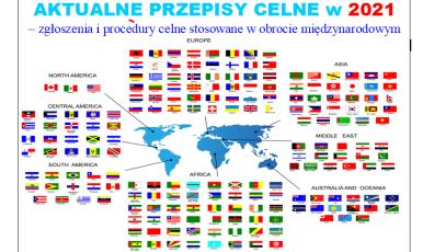 AKTUALNE PRZEPISY CELNE w 2021 r. – zgłoszenia i procedury celne stosowane w obrocie międzynarodowym - szkolenie online